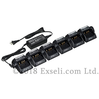 6連結対応充電台
